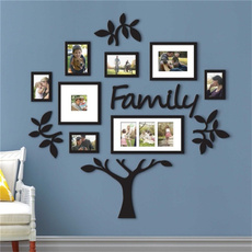 Wall Mount, familyphototree, Home Decor, Wall Design Stickers