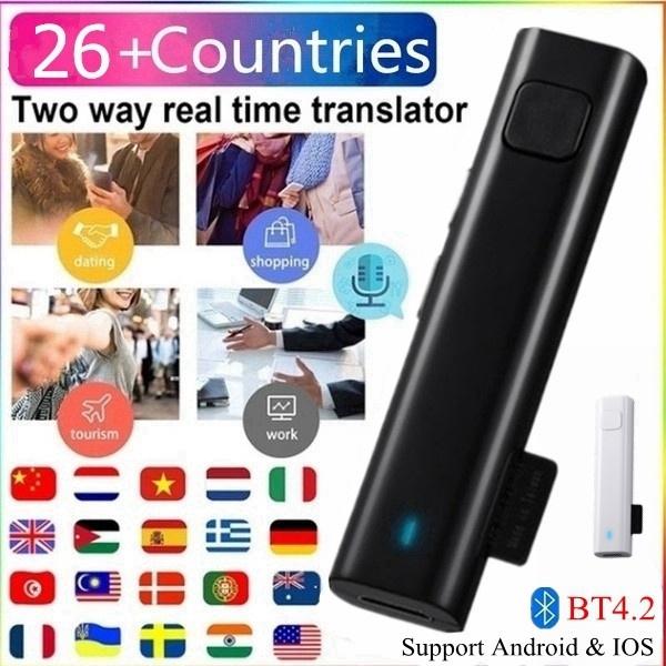 Earphone, Consumer Electronics, voicetranslator, Bluetooth