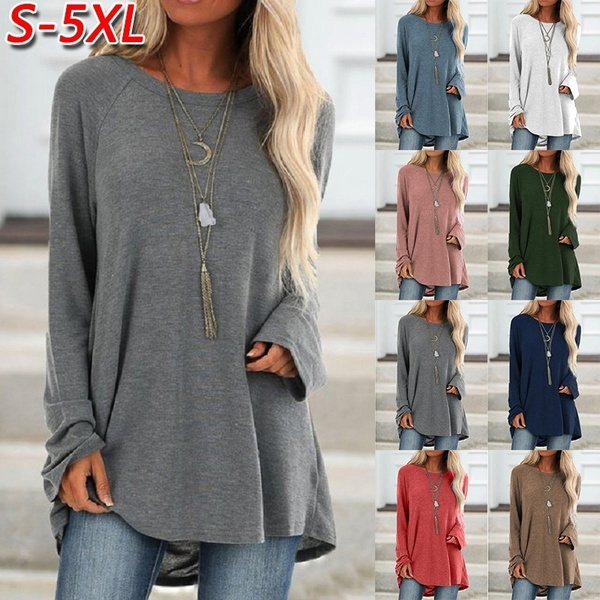 Cotton, Plus Size, tunic, Winter