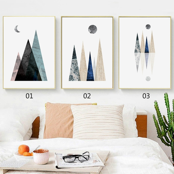 Mountain, Wall Art, canvaspainting, Pictures
