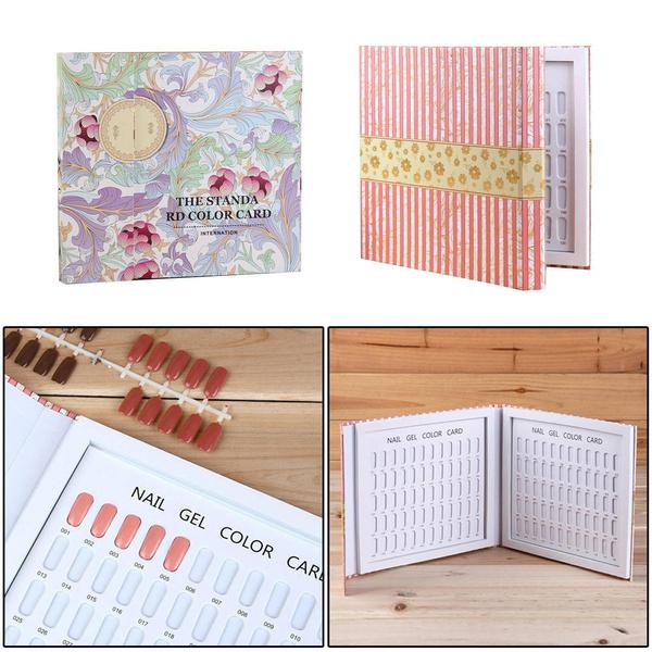 Box, colordisplaychart, naildisplayboard, Beauty