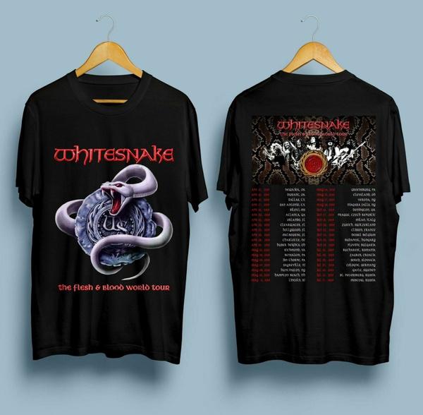 whitesnake, Shirt, Tops, camiseta