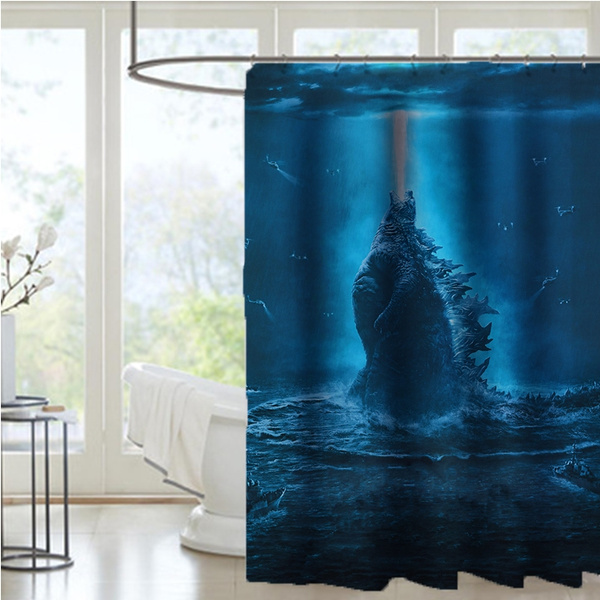 Polyester, Waterproof, Shower Curtains, cartoonshowercurtain
