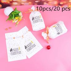 Christmas, Gifts, Gift Bags, Santa Claus