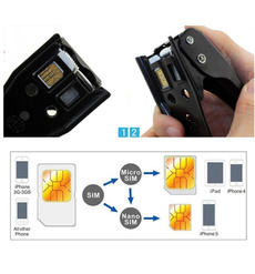iphonesimcardcutter, nanosimcardcutter, Adapter, Metal