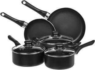 nonstickkitchencookwareset, Kitchen & Dining, kitchencookwareset, dishwashersafecookwareset