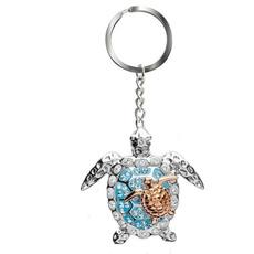 handbagkeychain, Turtle, Moda, jewelrykeychain