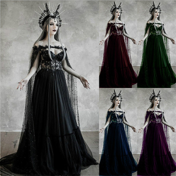 gowns, gothicvictorian, Fashion, sheer dress
