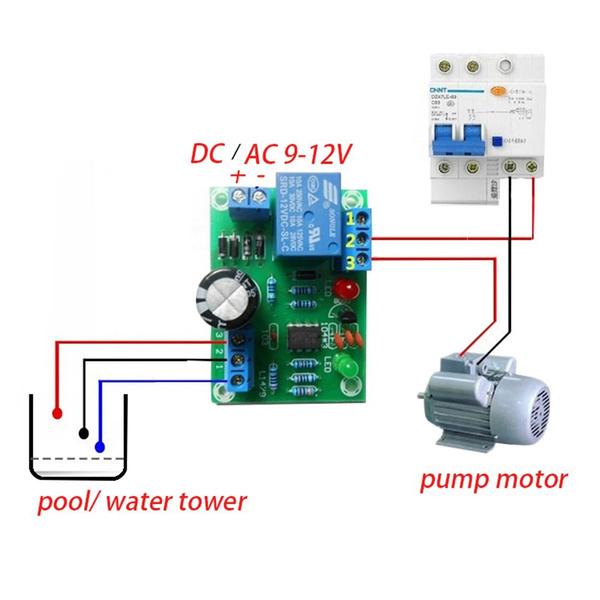 liquidwaterlevelcontroller, Tank, waterlevelswitch, liquidlevelmodule