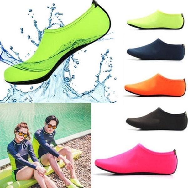 beachdivingshoe, adultcrembossedbottomswimmingshoe, skidanticutbeachsock, Shoes