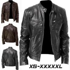 Stand Collar, bikerjacket, Shorts, Winter