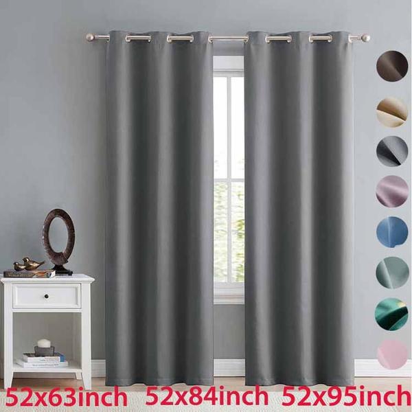 rideaux, grommetcurtain, Home textile, blackoutcurtain