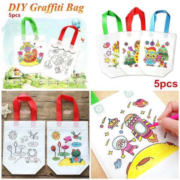 Toy, graffiti bag, handmadetoy, diycraft