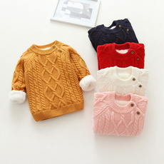 Fashion, Winter, solid, Sweaters