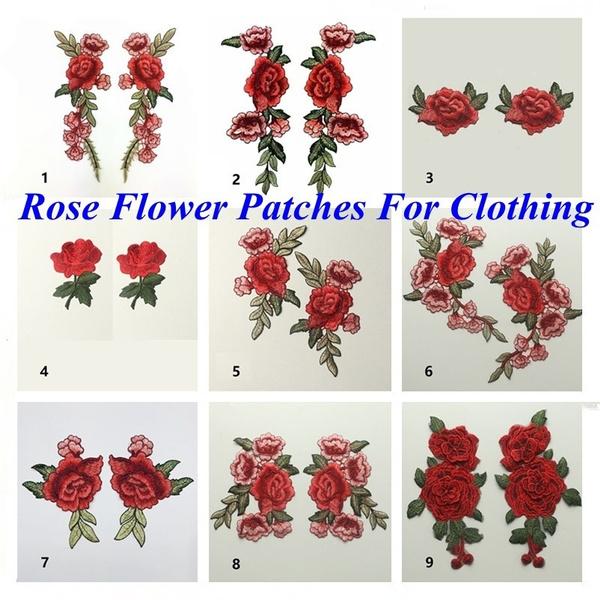 handmadepatch, Rose, Sewing, Handmade