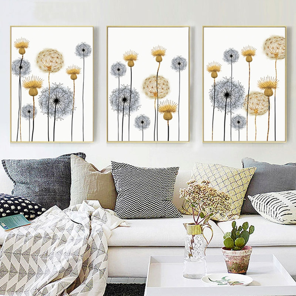 Beautiful, decoration, canvasart, Flowers