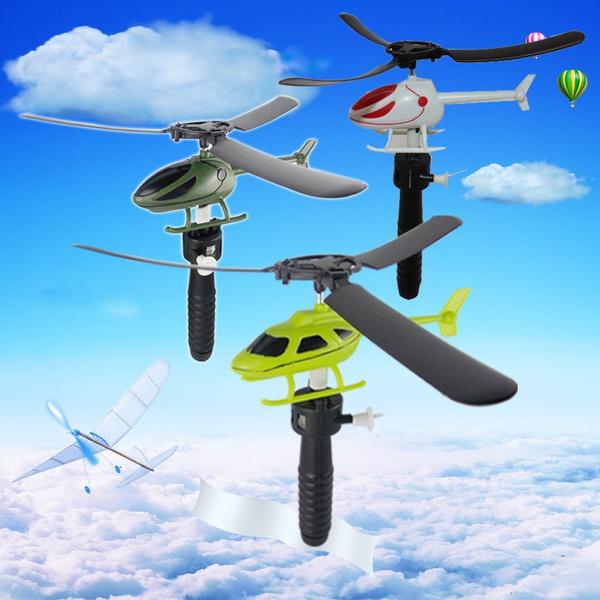 Mini, Funny, Toy, handlehelicopter