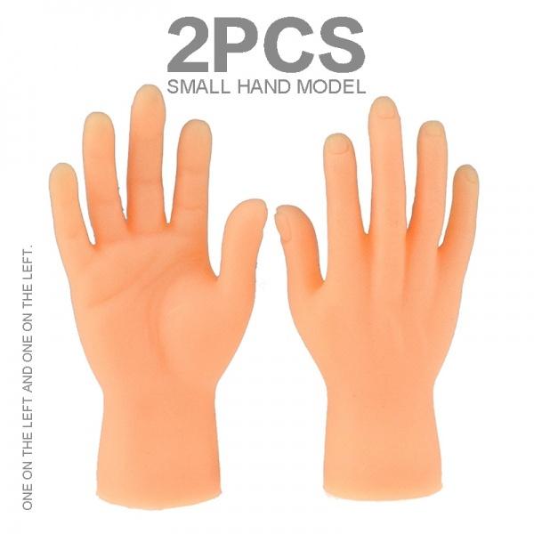 Mini, fingerpuppet, fingerhand, partyfingerhand