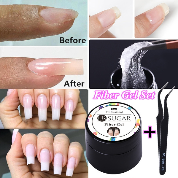 Fiber, nail tips, Beauty, nailextension