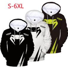 Hip-hop Style, 3D hoodies, hooded, Sleeve
