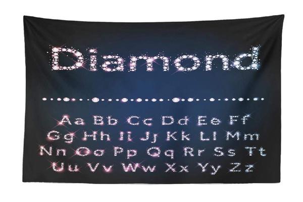 Decor, DIAMOND, beachtowel, Home Decor