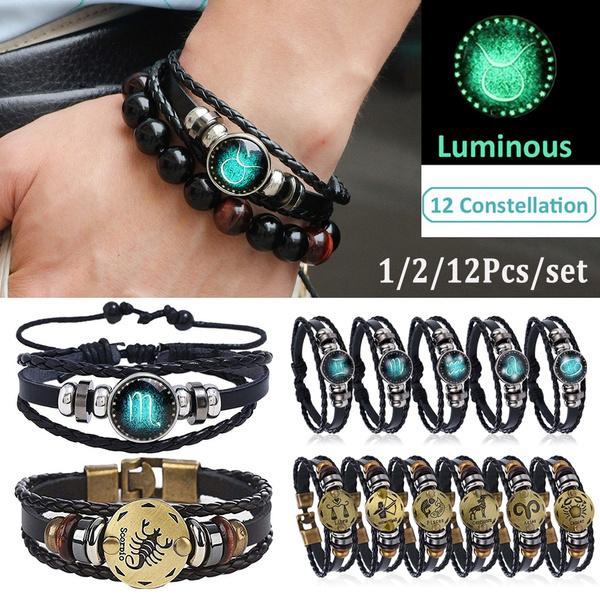 Jewelry, leather, punk, Bracelet
