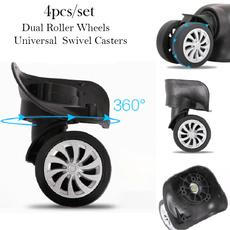 trolleycasewheel, 360degreerotatingwheel, duralswivecaster, suitcasewheel