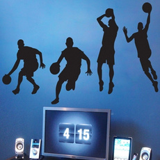 Boy, Basketball, Sports & Outdoors, wallstickersampmural