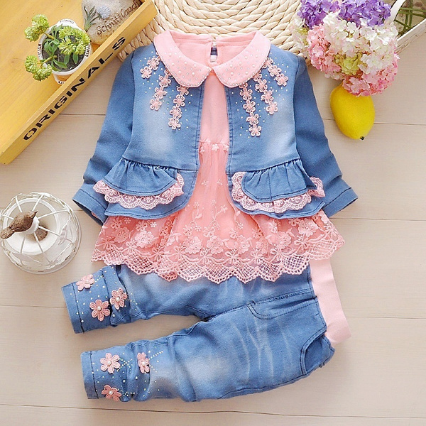 Fashion, kids clothes, Lace, jackets for girls