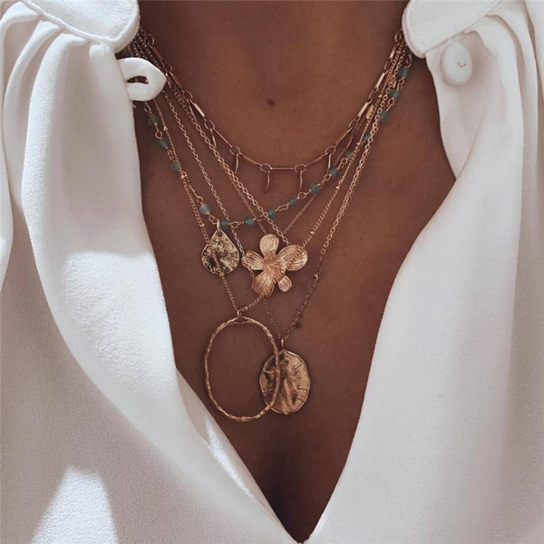 water, circlenecklace, Fashion, chainsnecklace