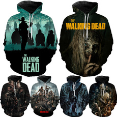 thewalkingdeadseason10, 3dprintsweatshirt, TV, Casual sweater