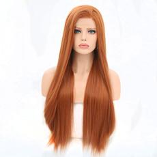 wig, Copper, straightwig, orangewig
