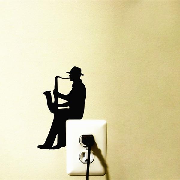 decoration, Jazz, switchsticker, Home & Living