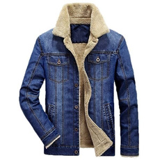 Jeans, Fashion, Winter, thickcoat