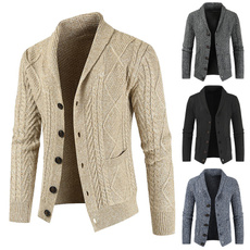 Casual Jackets, cardigan, Winter, Sleeve