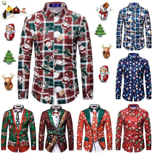 Tree, Fashion, Christmas, long sleeved shirt
