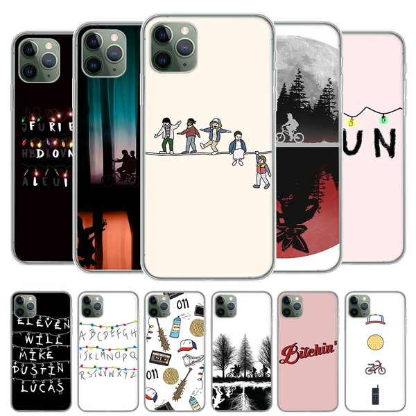 Stranger Things Phone Case Friends Cover for IPhone 11 Pro Max IPhone 8 7 6S Plus X XS MAX 5 5S SE XR Concha Fundas Coque Samsung Galaxy S6 Edge S7 ...