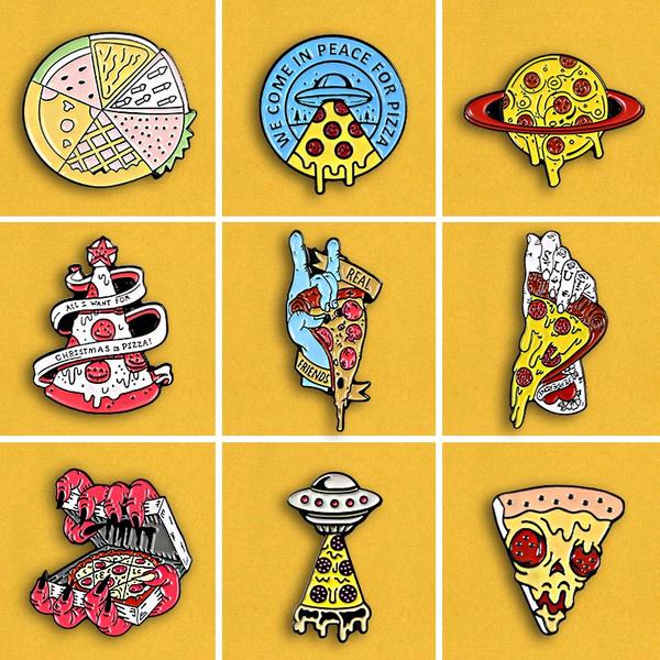 pizzaspaceshippin, devils, halloweengift, Pins