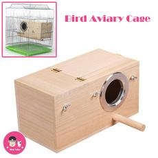 Box, birdnestingbox, budgie, petwoodnest
