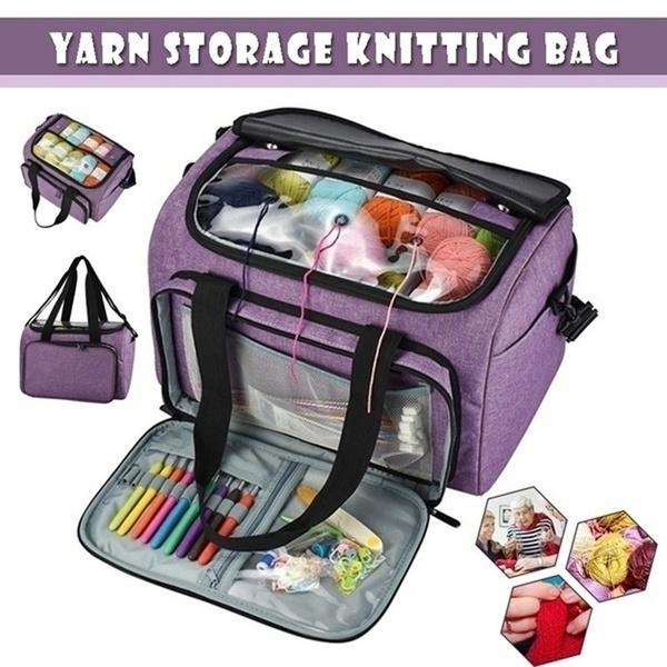 Wool, Knitting, woolstoragebag, Storage