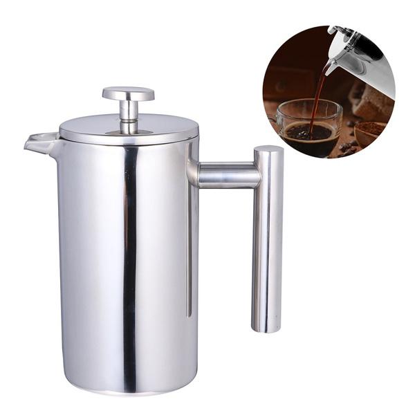 Steel, coffeeheatpreservation, FRENCH, Mug