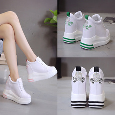 casual shoes, wedge, shoeofspongecake, Womens Shoes