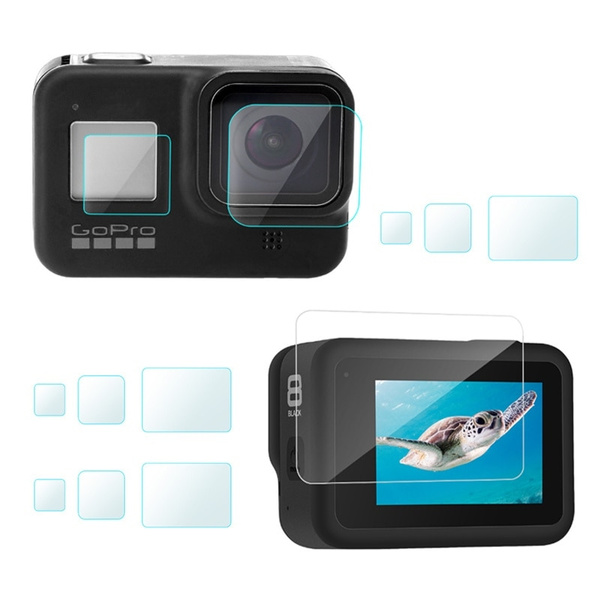 gopro accessories, sportactioncamerascreenprotector, gopro2018lensprotector, gopro7blackscreenprotector