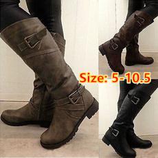 Knee High, Plus Size, Platform Shoes, winter fashion