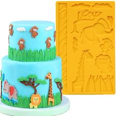 animalsmold, Baking, fondantmold, Food