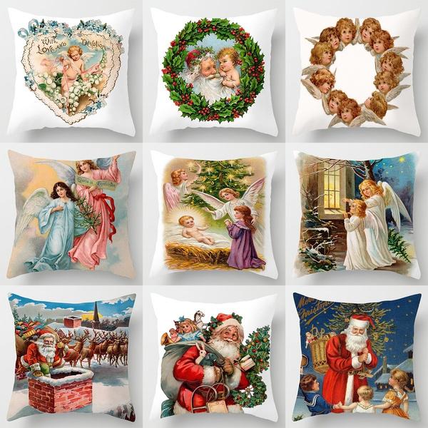 Home Decor, Angel, xmasdecor, Pillowcases