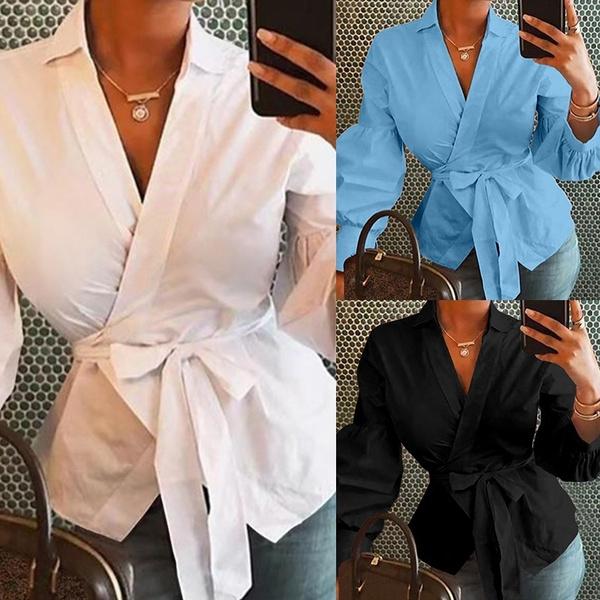 shirtsforwomen, Plus Size, Women Blouse, Long Sleeve