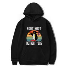 penguinshoodie, cute hoodie, Fashion, Sleeve