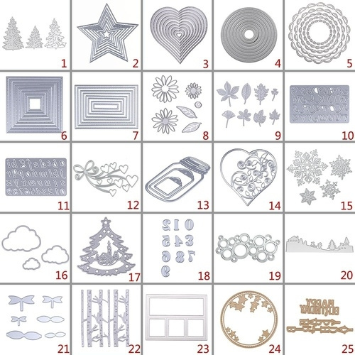 stencil, Christmas, Metal, cuttingdie