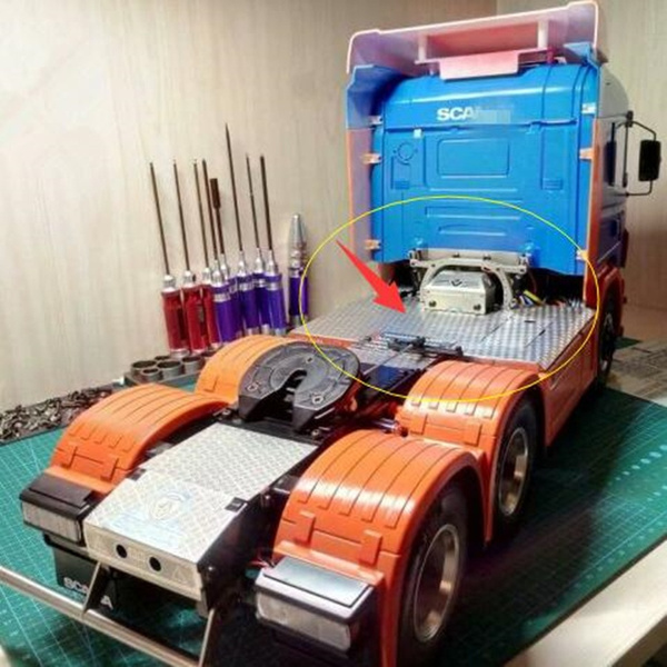 tamiyascania, 114rcscania, RC toys & Hobbie, tractortoy